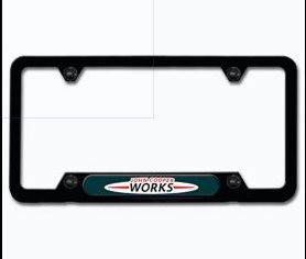 Mini Cooper License Plate Frame -