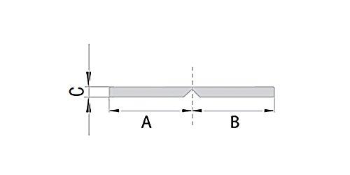 Knickwinkel selbstklebend Winkelleiste 35x35mm 5m lang Winkelprofil Fensterleiste auf Rolle