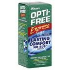 Alcon Express Lasting Comfort No Rub Multi-Purpose Disinfecting Solution 4 OZ (Pack of 6)