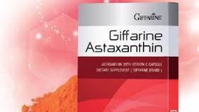 Astaxanthin with Vitamin C Capsule Dietary Supplement Antioxidant 30 Capsules Net Weight 7.5g. [Pack of 2] by Giffarine