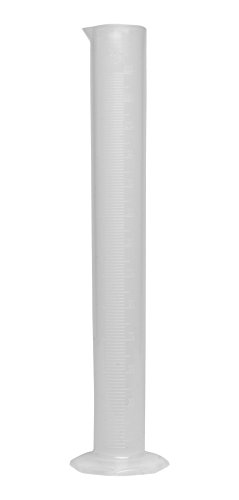 Bel-Art Single Scale 250ml Polypropylene Graduated Cylinder; 2.0ml Graduation (F28456-0000)