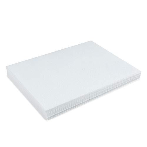 Kunin 9 X 12 Stiff Felt 12 Pack White
