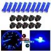cciyu 20 x Blue LED & Sockets Instrument Dashboard Speedo Light Bulbs T5 57 37 73 257