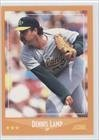 Dennis Lamp Oakland Athletics (Baseball Card) 1988 Score #616