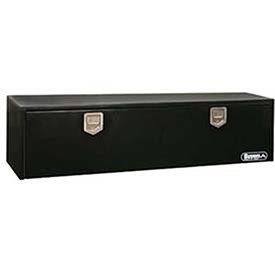 Buyers Products 1702110 Underbody Toolbox, Black, 18″ x 18″ x 48″