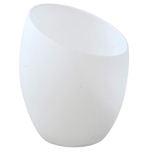 Modern Frosted Glass Shade Replacement for Floor Lamps, Table Lamps, Vanity Lights, Chandeliers, Wall Lamps, Medusa Lamp, Multi-Head Lamp. Replace Your Plastic Covers/Shades.