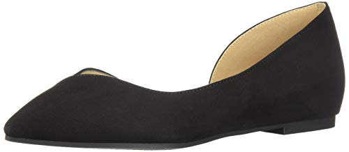 CL by Chinese Laundry Women's Hiromi Ballet Flat, Black Suede, 9.5 M US Chinese Laundry Ballet Flats