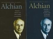 Collected Works of Armen A Alchian, 2-Volume Set. Liberty Fund Inc. (US). 2006.