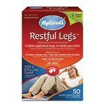 Hyland's Homeopathic Combinations Restful Legs 50 quick-dissolving tablets Pain (a) - 2pc by Hyland's Homeopathic