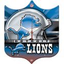 New Detroit Lions Wall Clock - High Definition High Quality Quartz Movement