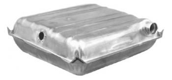 (Fuel Gas Tank for 55-56 Chevy 150 210 Series Bel-Air w/ Square Corners)