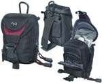 : Vanguard Kenline 6 Kenline Camera Pouch (Inside Dim: 2.375-Inchh X 1.375-Inchw X 3.125-Inchd; Outside Dim: 3.5-Inchh X 3.5-Inchw X 5-Inchd)