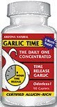 - Arizona Natural - Garlic Time T/R 1800Mg 180 Tab by Arizona Natural