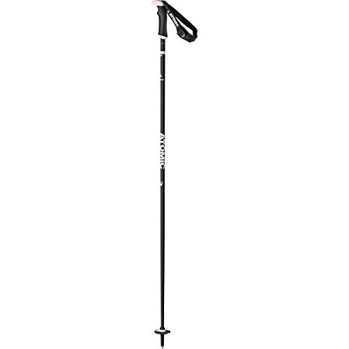 Atomic AMT Carbon SQS Ski Poles - Women's Black/Grey, 110cm