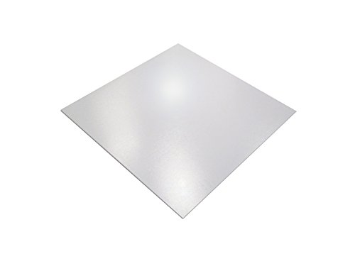 Cleartex XXL General Purpose Office Mat, for Hard Floors, Strong Polycarbonate, Square, 60'' x 60'' (FR1215015019ER) by Floortex