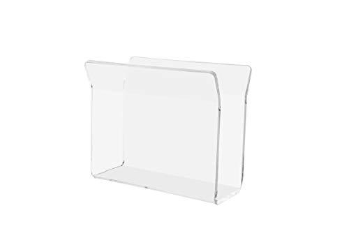 - Marketing Holders U-Shape Napkin Holder Clear Acrylic Upright Tabletop Stand