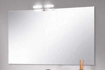 Specchiera specchio bagno misure da 80x60 con applique: amazon.it