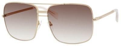 Céline Sunglasses - 41808/S / Frame: Gold Lens: Smoke Flash Silver by Céline