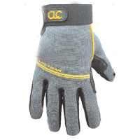 CLC 125M Handyman Flex Grip Work Gloves, resistente al encogimiento, mejor destreza, resistente, estirable, excelente agarre