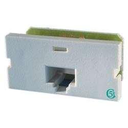 (Ortronics Clarity Series II 1-Port CAT5e Jack Module, Fog White OR-S215E00)