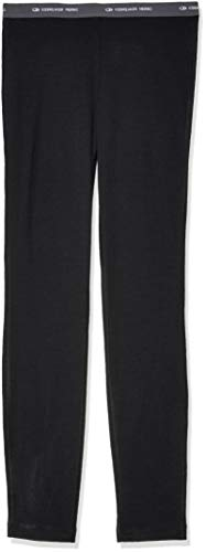 - Icebreaker Merino Kids Oasis Leggings, Black, Size 05