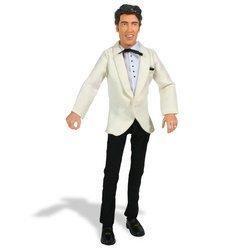 Elvis Presley Talking Action Figure: Elvis Dressed in White Suit Coat and Black Pants (Talking Elvis)
