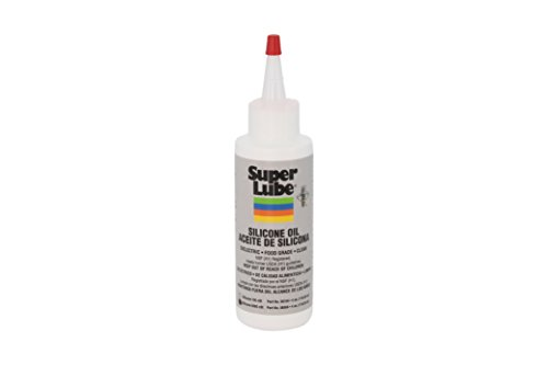 Super Lube 56504 Silicone Oil 5000 CST, Clear