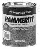 Masterchem 43120 Hammerite Rust Cap Rust Preventative Paint Hammered Brown 1 Qt