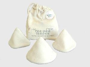Beba Bean Pee-pee Teepee Organic Natural - Laundry Bag by Beba Bean