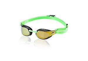 Elite Goggle - Speedo Fastskin3 Elite Mirrored Goggle Green 1SZ