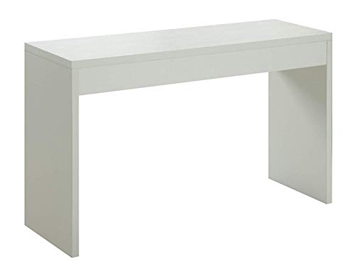 Convenience Concepts Northfield Hall Console Table, White (White Small Console Table)