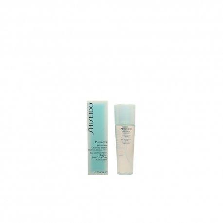 (SHISEIDO Shiseido PURENESS Refreshing Cleansing Water Oil-free Alcohol-free, 5 oz / 150 ml)