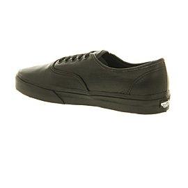 Vans Authentic Leather Black Mono - 8 UK big sale cheap price pqCKC2GFoH