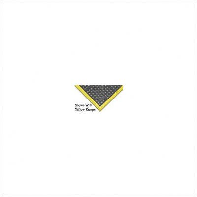 Superior Manufacturing 850S0035BL 850 Niru Cushion-Ease GSII Mat, 3' x 5' Size, Black