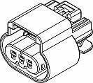 Automotive Connectors 3P FM BLK CONN ASSY 150 SERIES 15 AMPS 1 piece
