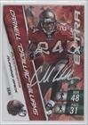 Cadillac Williams (Football Card) 2010 Adrenalyn XL - Extra Signature #ES30 ()