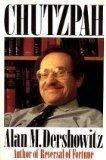 Chutzpah by Alan M. Dershowitz