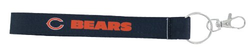 (aminco NFL Chicago Bears Wristlet Key Ring)
