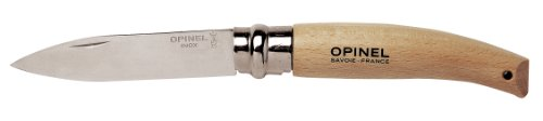 Opinel Garden Knife 4 1/4″ closed Oak Handle Knife, Outdoor Stuffs