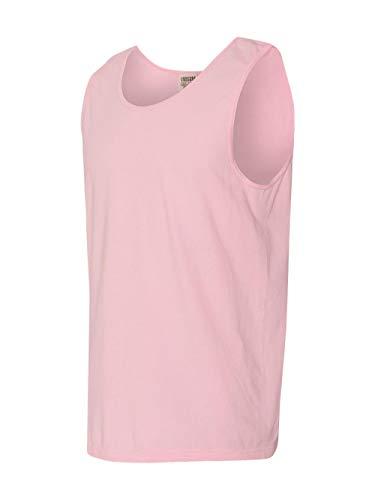 Sleeveless T-shirt Ringspun (Comfort Colors By Chouinard Adult Ring-Spun Tank Top (Blossom) (S))