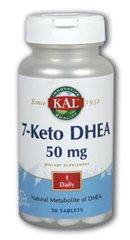 KAL - 7-Keto Dhea, 30 comprimés