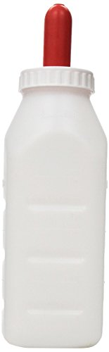Advance 973 Screw Calf Bottle Set with Nipple, 2-Quart