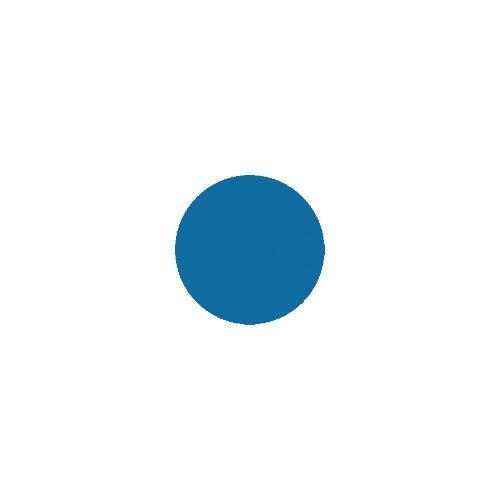 Milani Nail Art Nail Color #707 Blue Print