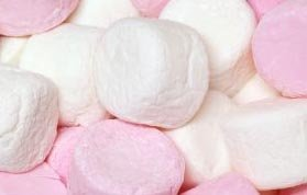 Frisia Pink And White Marshmallows 500 Gram Bag (1/2 (Pink Marshmallows)