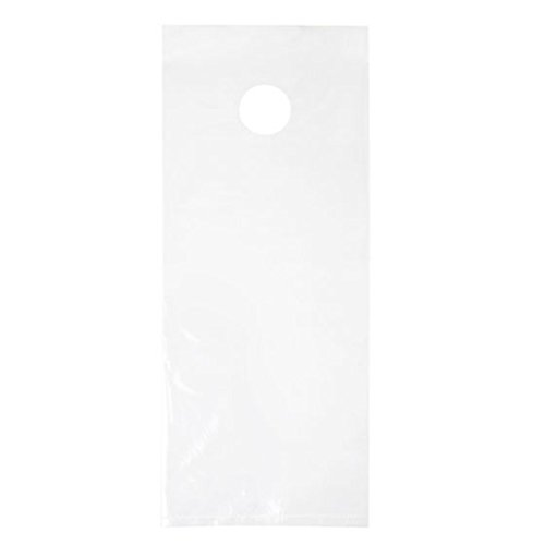 (ClearBags 6 x 15 Door Hanger Bags for Door Knob Flyers Promotions and More | Protect Against Rain Weather Bugs Etc | DK5 (Pack of 1000))