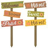 Thanksgiving Fall Harvest Autumn Fall Harvest Yard Signs, 24 in. Welcome to our Patch & Home Sweet Home Bundle of 2