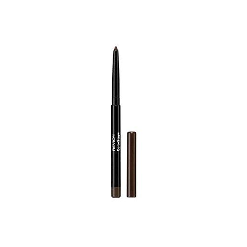レブロンアイライナーブラウン x4 - Revlon Colorstay Eyeliner Brown (Pack of 4) [並行輸入品] B072L2NPKX