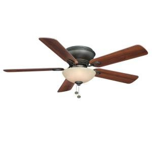 52 oil rubbed bronze ceiling fan - 4