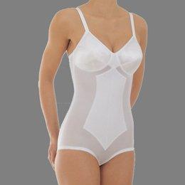 (Rago Women's Plus Size High Waist Tummy Control Brief - Black, 44 C)