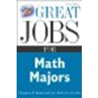 Great Jobs for Math Majors by Lambert, Stephen, DeCotis, Ruth [McGraw-Hill, 2005] (Paperback) 2nd Edition [Paperback]